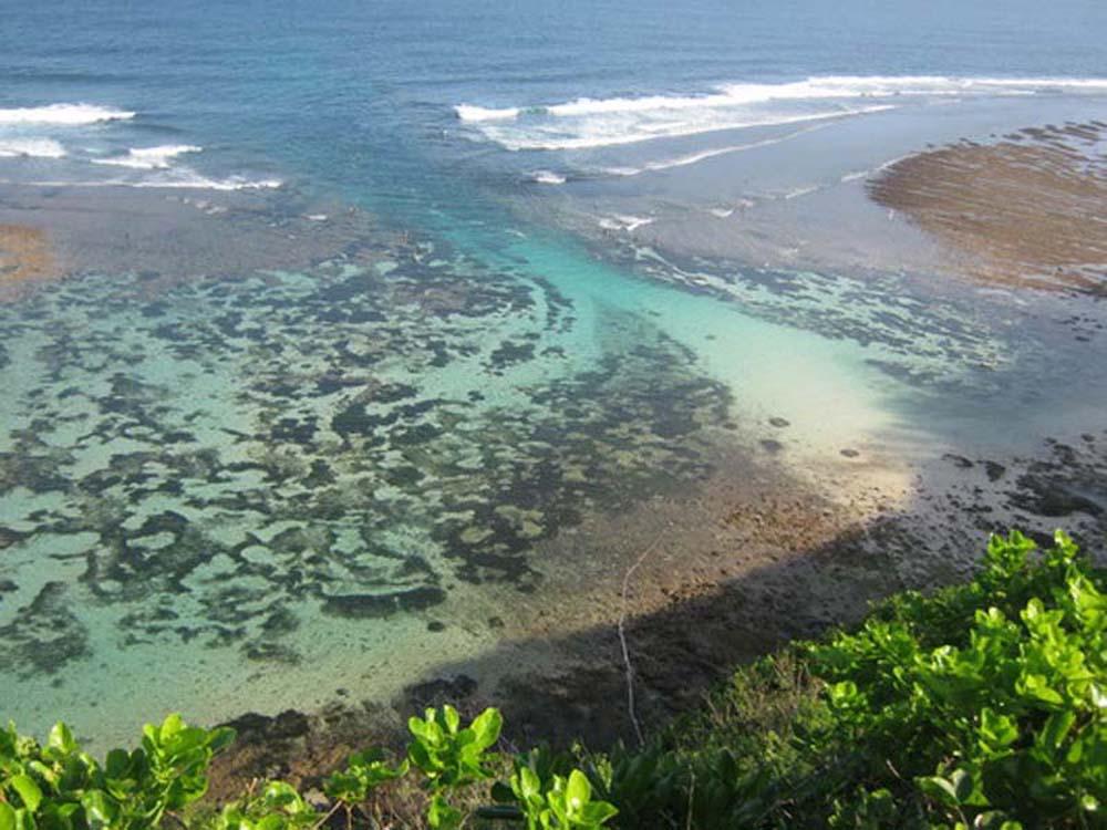 Impressive real estate Bali cliff front in Ungasan elite location