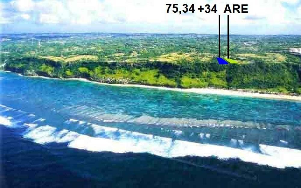 Beautiful Bali cliff real estate for sale on the best location of Pandawa