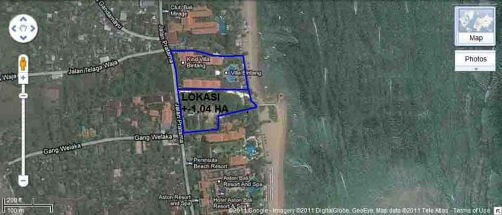 Stunning Bali beach land for sale in Uluwatu