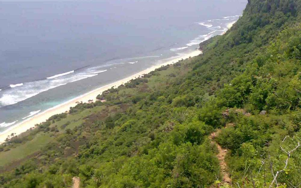Exclusive Bali cliff land for sale in the billionaire row of Uluwatu