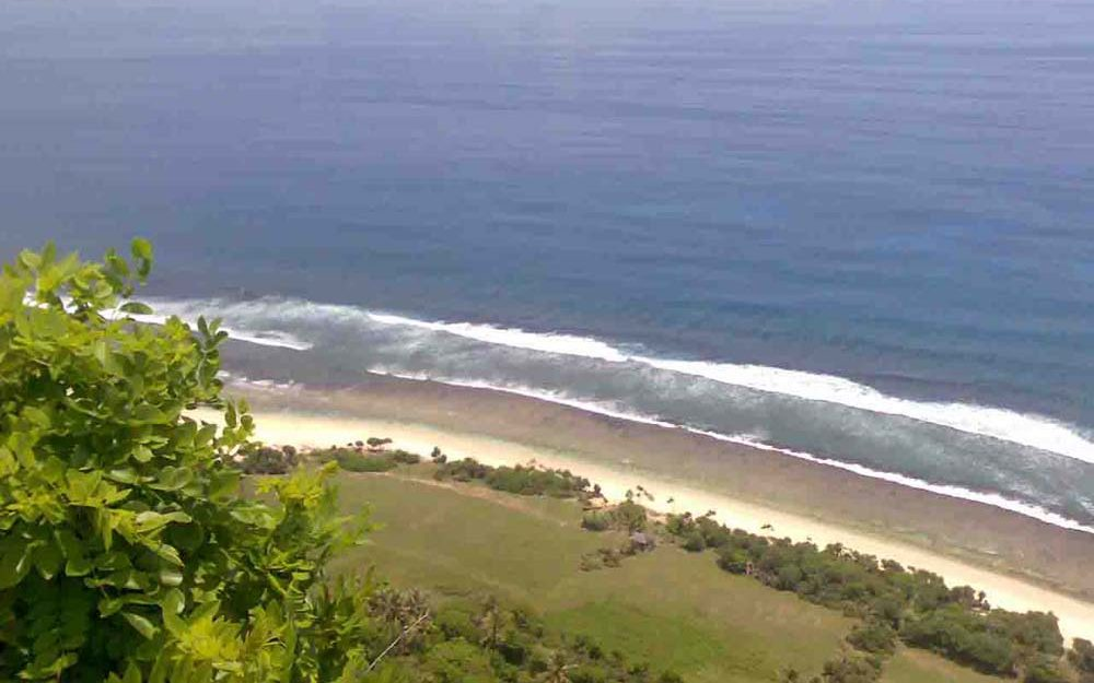 Fabulous Bali cliff property for sale on a prime location of Uluwatu