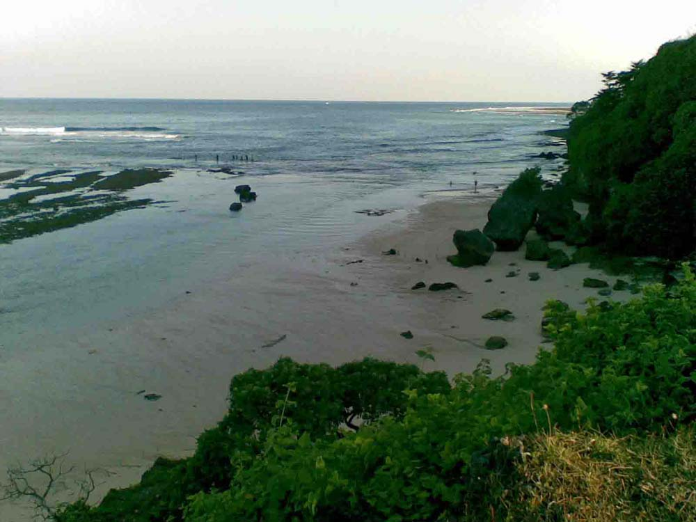 Exclusive Bali cliff land for sale in the area of Nusa Dua