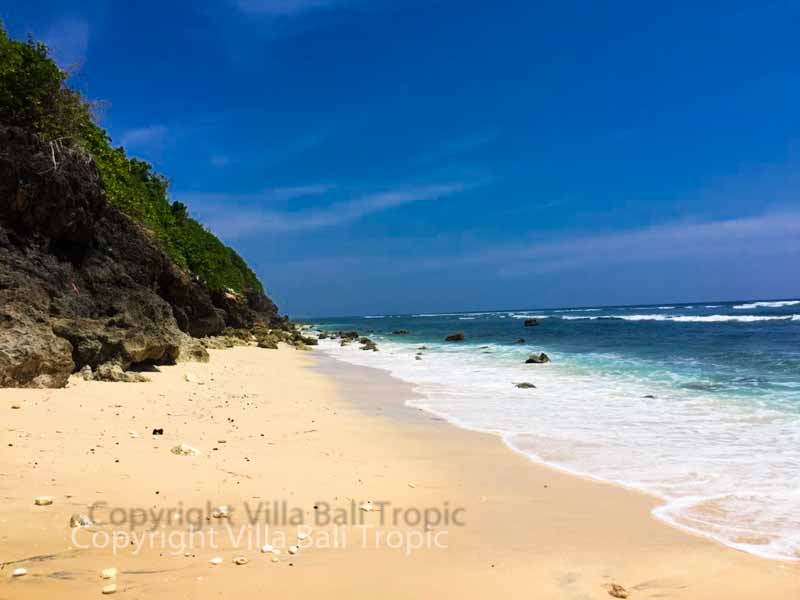 Fantastic Bali cliff land for sale on the prime area of Ungasan