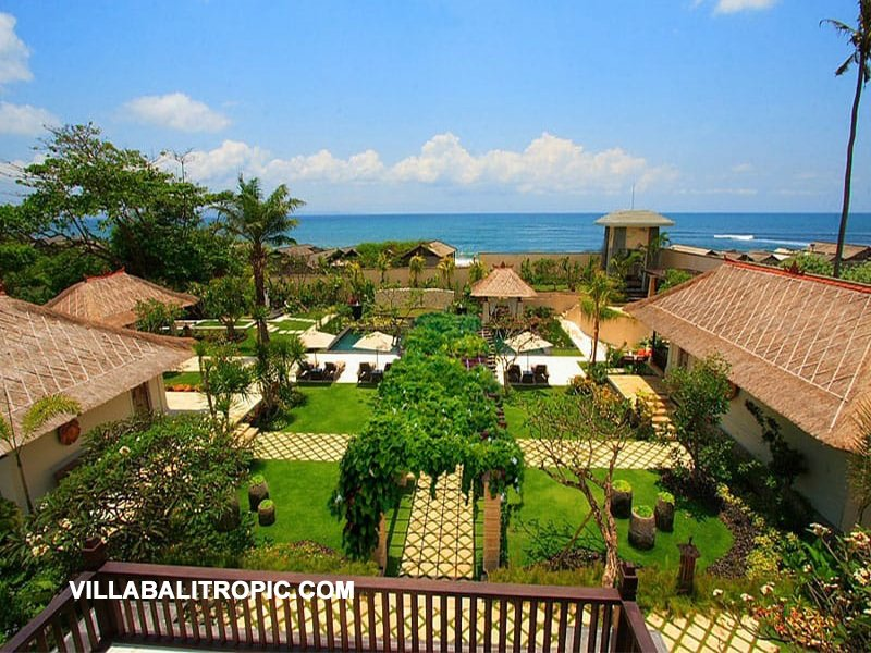 Beautiful cliff-front villa for sale in Bali Canggu best location