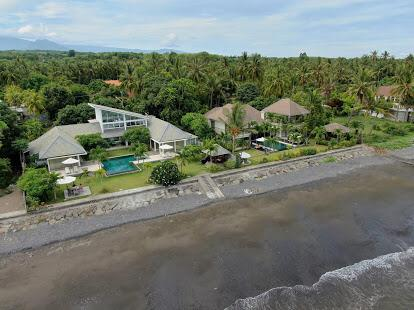 Prestigious Bali beach villa for sale on the best area of Lovina