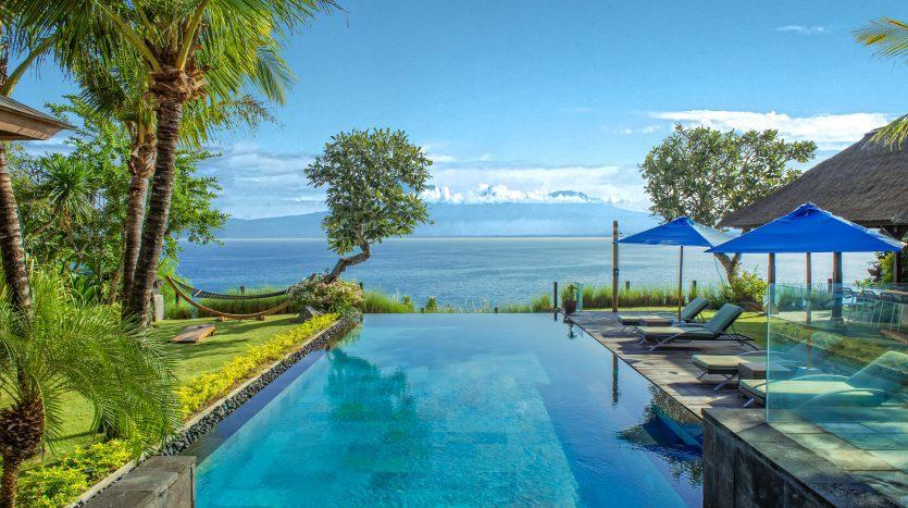 Prestigious beach view Bali property for sale on the best location of Labuhan Sait