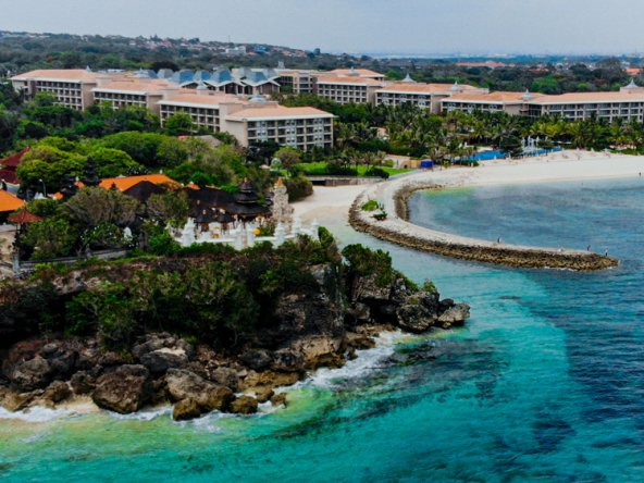 Exclusive Bali cliff land for sale in the area of Nusa