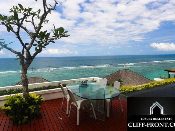 Wonderful Bali property for sale Cliff-Front Villa in Nusa Dua best location