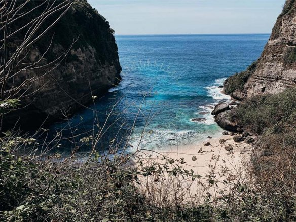 Gorgeous cliff top land for sale in Nusa Penida