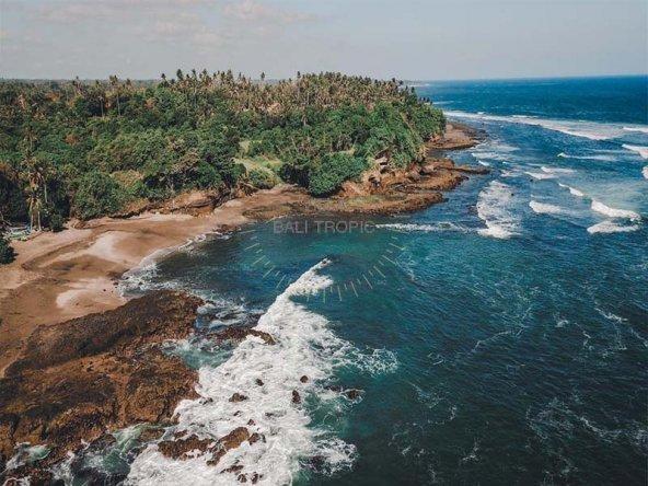 Majestic Bali beach land for sale Tabanan elite location